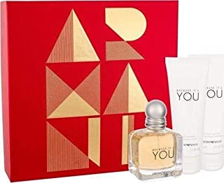 Emporio Armani Because Its You Gift set