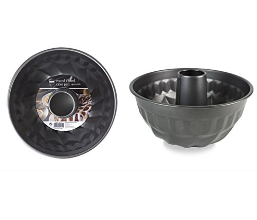 Round Non Stick Fluted Cake Pan Perfect for Ring Cakes, Savouries & Desserts