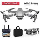 E68 Foldable Drone with 4K Camera for adults and beginners,WiFi FPV RC Quadcopter,One