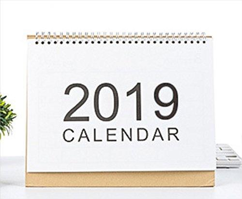 Moderne Office Bureau benodigdheden 2019 Familie Wekelijkse Planner Kalender Desktop Flip Maand om te bekijken Stand Up Office Home Table Planner