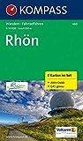 KOMPASS Wanderkarte Rhön: Wanderkarten-Set mit Aktiv Guide. GPS-genau. 1:50000: 2-delige Wandelkaart 1:50 000 (KOMPASS-Wanderkarten, Band 460)