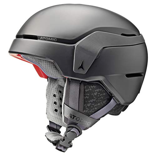 ATOMIC AN5005550M Count, Casco da Sci all-Mountain, Unisex, Taglia M (55-59 cm), Nero