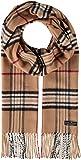 FRAAS Bufanda de Tela Tejida para Mujeres y Hombres - Bufanda con flecos de borla - Bufanda unisex de 30 x 180 cm - Colores vibrantes de moda en nuestro Tartán Clásico