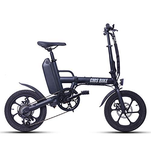 GUOJIN Bicicleta Electrica Plegables 250W Motor Bicicleta Plegable 25 Km/H, Bici Electricas...
