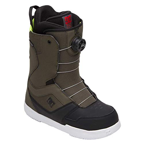 DC Scout BOA Snowboard Boots Green 11 D (M)