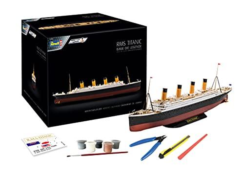 Revell-01038 Calendario de Adviento RMS Titanic, Color Negro (01038)