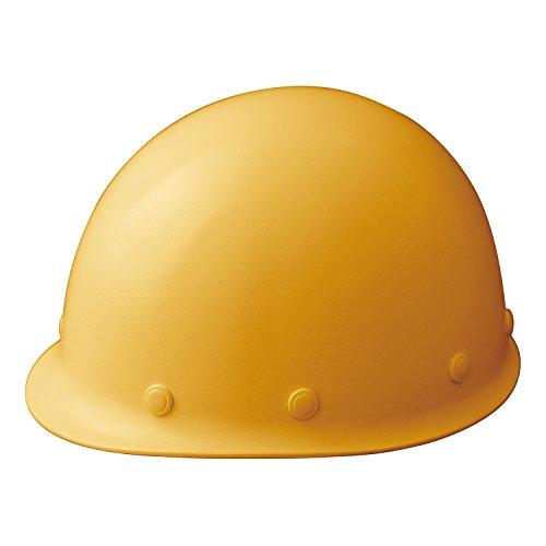 ミドリ安全 ヘルメット 一般作業用 熱場作業用 SCM RA KPなし イエロー