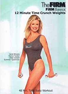 The Firm Basics 12 Minute Time Crunch Weights DVD