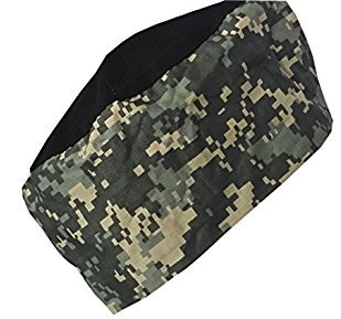 Personalized Chef BEANIE Hat CAMO Camouflage Digital ACU Adjustable all sizes Custom Embroidery