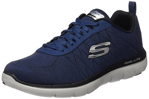 Skechers Flex Advantage 2.0, Scarpe Sportive Outdoor Uomo, Blu (Nvy), 44 EU