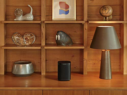 Sonos One SL - Microphone-Free Smart Speaker – Black (2) with $10 Gift Card