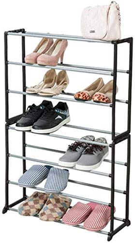 Asamblea Zapatero apilable de Varios Niveles de Almacenamiento Torre Gabinete Pasillo de Entrada Simple de Bricolaje Taburete Cambiar Zapatos