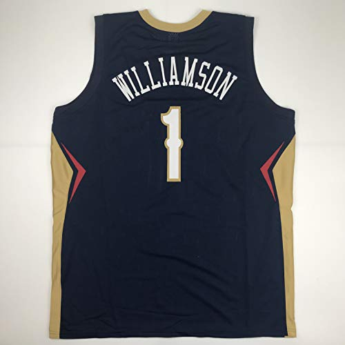 Unsigned Zion Williamson New Orleans Blue Custom Stitched Basketball Jersey Size Men's XL New No Brands/Logos
