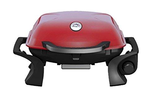 Barbecue Grill Portatile a Gas QLIMA PG101 Rosso 3500 Watt