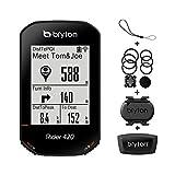 Bryton Rider 420T GPS Cycle Computer (Sensor Bundle)