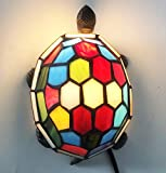 Tiffany Turtle lamp Stained Glass Turtle Night Light Tiffany lamp, Turtle HMJ80012