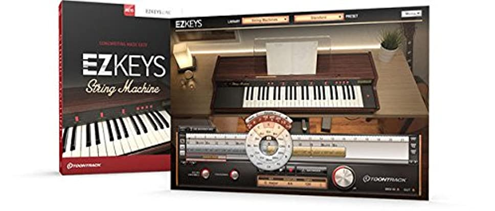 暖炉不安定な回想TOONTRACK EZ KEYS - STRING MACHINES/BOX