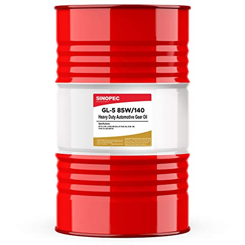 Sinopec 85W140 Heavy Duty EP Gear Lube - 55 Gallon Drum (1)