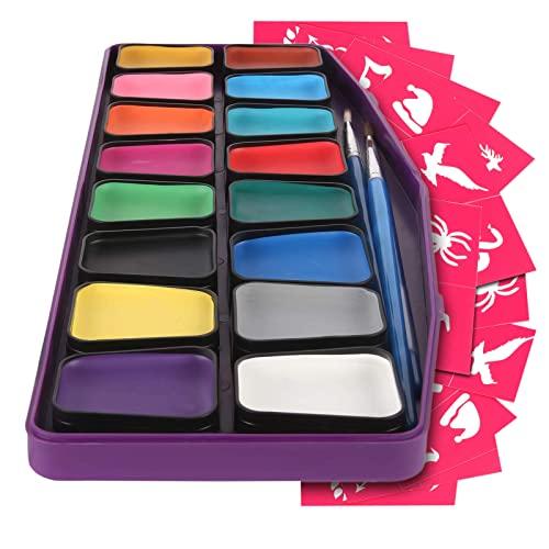 Kinderschminke hypoallergen - Gesichtsmalfarbe Set...