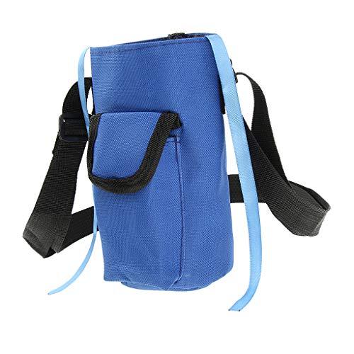 perfeclan Paquete de Almacenamiento de Hervidor de Agua para Botella de Agua para Ciclismo Al Aire Libre - Azul, M