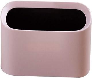 Boîte à ordures Petite corbeille de bureau peut contenir une boîte de rangement pour le ménage Poubelle de cuisine (Color ...