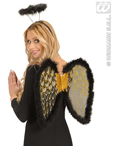 Flügel schwarz-gold
