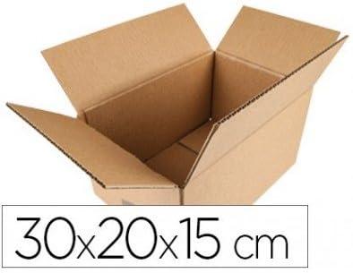 Q-Connect KF26137 - Caja para embalar, 600 x 400 x 290 mm: Amazon.es: Oficina y papelería