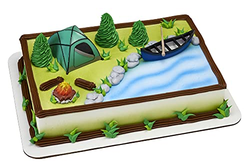 Decopac Fireside Camp DecoSet Cake Decoration