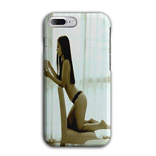 Wellcoda Mädchen Heiß Karosserie Beute Sexy Hülle für iPhone 7 Plus Nackt rutschfeste Hülle - Slim Fit, komfortabler Griff, Schutzhülle