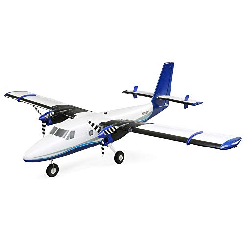 E-flite RC Airplane Twin Otter 1.2m BNF Basic (Transmitter, Battery and Charger not Included) with AS3X and Safe, Includes Floats, EFL300500