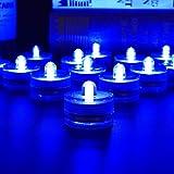 HL 36pack Vert Étanche Sous-Marin Rond Mini LED Tea Lights Lumières Submersibles pour le Mariage À La Maison Party Vase Festival Saint Valentin Décoration