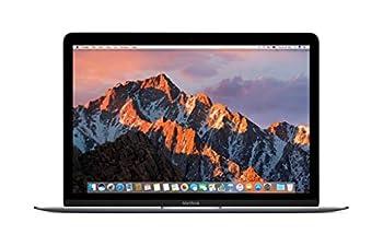 Apple MNYF2LL/A 12in MacBook Retina 1.2GHz Intel Core m3 Dual Core Processor 8GB RAM 256GB SSD Mac OS Space Gray  Newest Version   Renewed