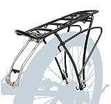 P4B | Fahrrad Gepäckträger - verstellbar für 24/26 / 28/29 Zoll | Rahmenbefestigung mit Befestigungsmaterial | Bis max. 25 Kg Zuladung