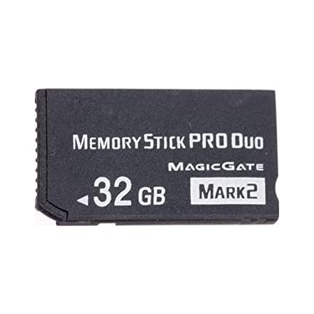 MS 32GB Memory Stick Pro Duo Card Storage for Sony PSP 1000/2000/3000 Game Console Card