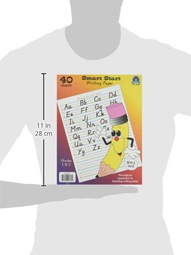 Teacher Created Resources Smart Start 1-2 Writing Paper: 40 Sheet Tablet (76530) Photo #2