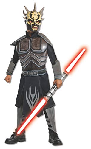 Rubies 211734 Star Wars Clone Wars - Savage Opress Deluxe Child Costume - Brown - Medium