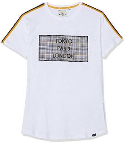 Soul Star Herren Sodden T-Shirt, Weiß (White FFFFFF), M