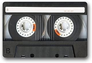 Shirley's Door Mats Nymeria -Custom Cassette Tape Home Doormats Top Fabric&Rubber