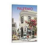 SHXI Vintage-Poster Palermo Buenos Aires Reiseposter,