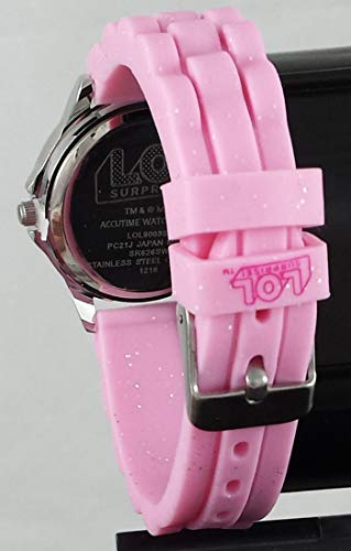 L.O.L. Surprise Center Stage Time Teacher Pink Analog Watch