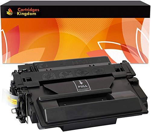 Cartridges Kingdom Toner Compatibile Nero per HP CE255X 55X | HP LaserJet P3010, P3011, P3015, P3015d, P3015dn, P3015n, P3015x, Enterprise 500 MFP M525dn, M525f, Canon LBP6750dn