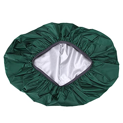 QSCTYG 35 / 45L Ajuste Impermeable Polvo a Prueba de Polvo Cubierta de Lluvia Portátil Ultralight Hombro Proteger al Aire Libre Senderismo Funda Mochila Impermeable 982