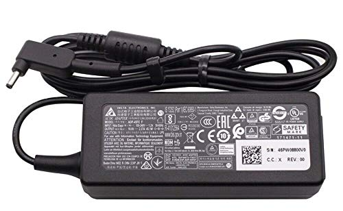 Laptop Adapters Delta 19V 3.42A Replacement Charger For Acer-Chromebook 15 14 13 11 R11 B5 CB5-571 C720 C720p C740 Power Cord,CB3-111-C19A, CB3-111-C670, Acer Aspire One Cloudbook AO1-131, AO1-431