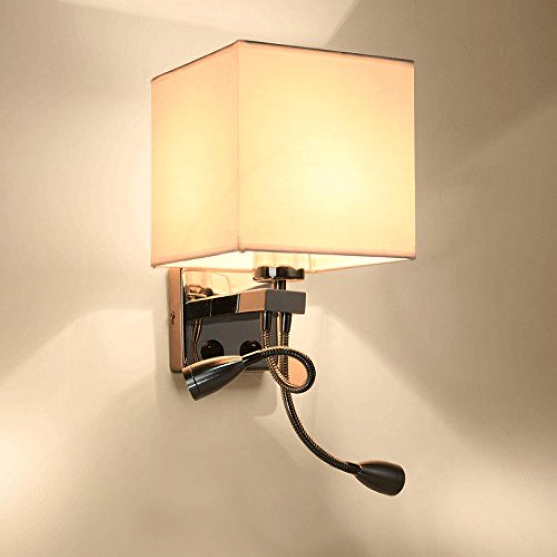 StiefelU LED Wandleuchte nach oben und unten Wandleuchten Wohnzimmer Balkon helle Nachttischlampe Schlafzimmer Treppen durch Wnde Wand leuchten, B