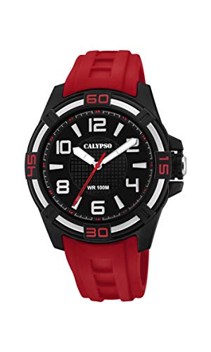 Calypso Watches Reloj Analógico para Unisex Adultos de Cuarzo con Correa en...