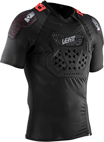 Leatt Airflex Stealth Protektoren T-Shirt Black Größe XXL 2021 Fahrrad Schutzbekleidung