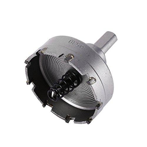 Rocaris 13Pcs 16mm-53mm Stainless Steel Carbide Tip TCT Metal Drill Bit Hole Saw Set