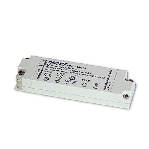 ANWAY LED Treiber ECO-700E15 15W/700mA/9-22V
