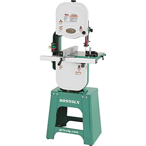 Grizzly Industrial G0555LX - 14' 1 HP Deluxe Bandsaw