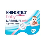 Rhinomer Baby, Aspirador Nasal para Bebés, + 2 Recambios Blandos Desechables